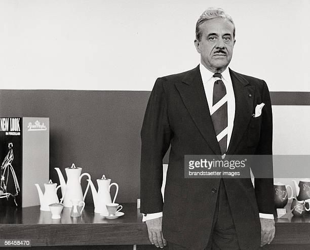 American designer Raymond Loewy Photography 1960 [Der amerikanische Designer Raymond Loewy Photographie 1960]
