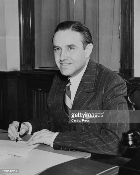 American diplomat W Averell Harriman 17th March 1941