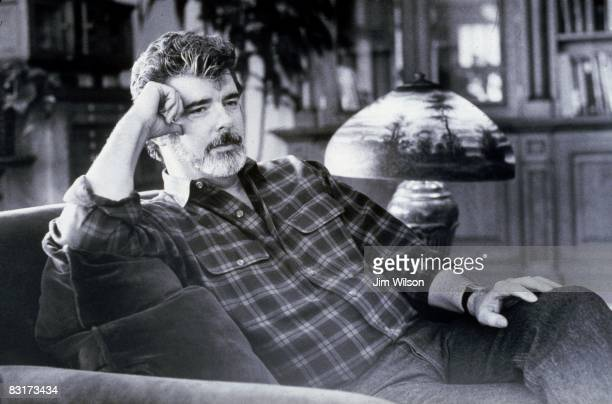 American director and producer George Lucas at Skywalker Ranch Marin County California 22nd January 1992
