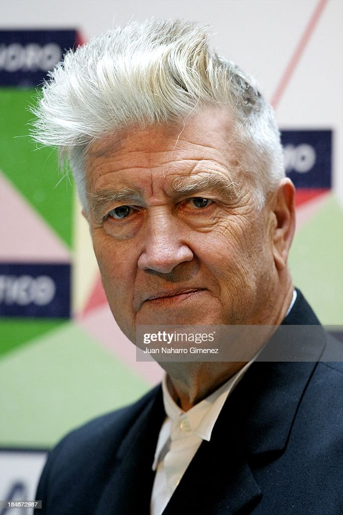 American director David Lynch attends Rizoma Festival photocall at Urban Hotel on October 15, 2013 in Madrid, Spain.