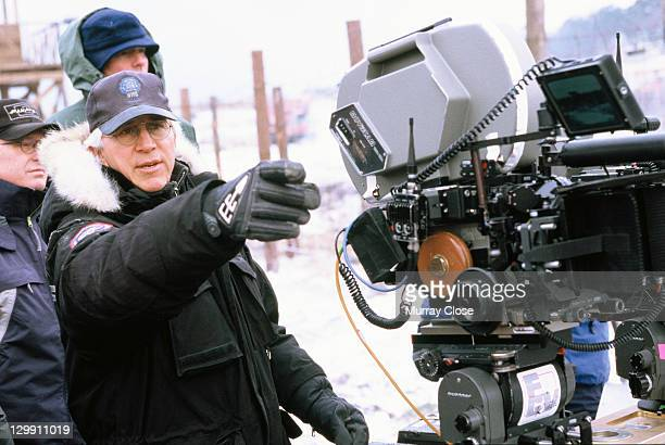 American director Gregory Hoblit on the set of his film 'Hart's War' in the Czech Republic 2002
