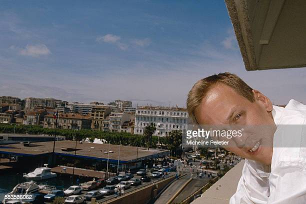American director Lodge H Kerrigan presents his movie Clean Shaven at the Cannes Film Festival