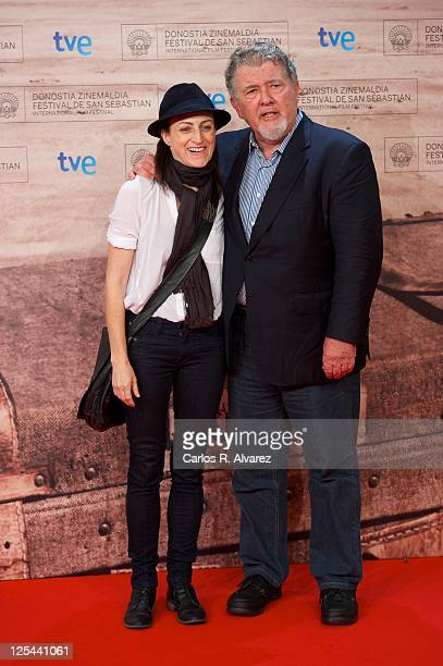 American directors Ami Canaan Mann and Walter Hill attend 'American Way of Death' photocall at the Kursaal Palace during 59th San Sebastian...