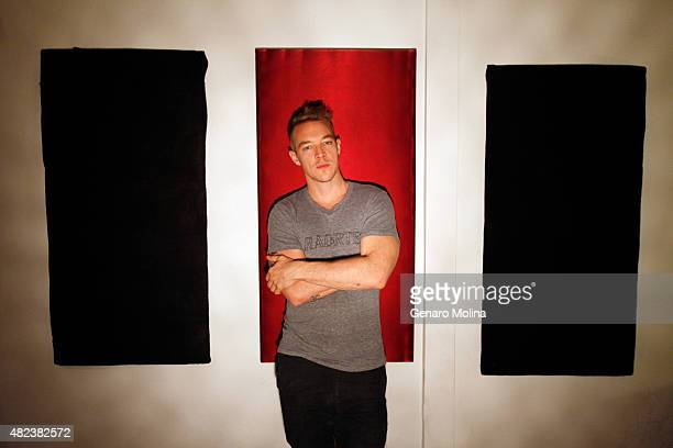American DJ music producer rapper and songwriter Diplo is photographed for Los Angeles Times on July 16 2015 in Burbank California PUBLISHED IMAGE...