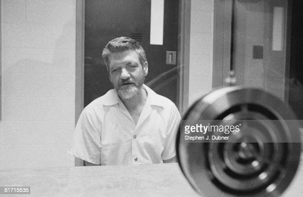 **EXCLUSIVE** American domestic terrorist luddite and mathematics teacher Ted Kaczynski speaks during an interview in a visiting room at the Federal...