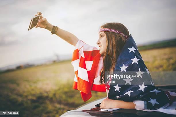 Amerikanischen Traum-selfie!