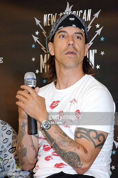 American Eagle Outfitters and Anthony Kiedis Host the New American Music Union Festival Press Conference Day 1 at Pittsburgh's Southside Works on...
