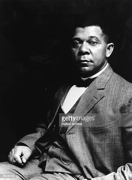 American educationalist writer and champion of rights for blacks Booker T Washington