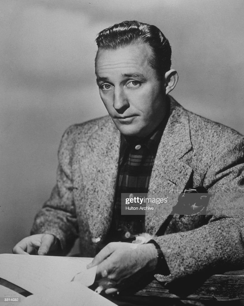 American entertainer <a gi-track='captionPersonalityLinkClicked' href=/galleries/search?phrase=Bing+Crosby&family=editorial&specificpeople=90412 ng-click='$event.stopPropagation()'>Bing Crosby</a>.