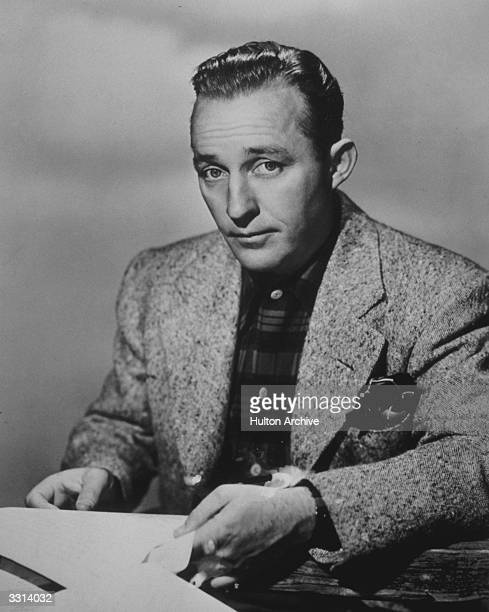 American entertainer Bing Crosby