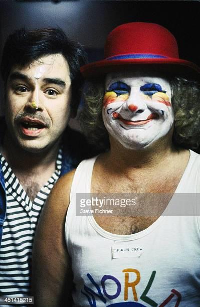 American entertainer/activist Wavy Gravy at the Wetlands Preserve nightclub 1990