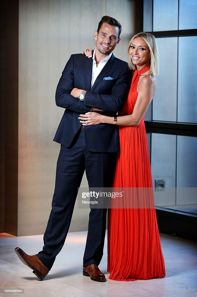 American entrepreneur Bill Rancic and Italian American television personality Giuliana Rancic pose during a photo shoot at The Park Hyatt Hotel, The Rocks on September 22, 2014 in Sydney, Australia.