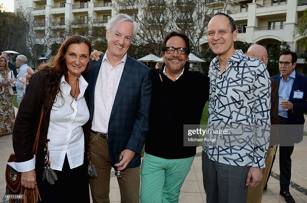 American Express Publishing President & CEO Ed Kelly, Departures Senior Vice President and Editor in Chief Richard David Story and Hermes of Paris US President and CEO Robert Chavez attends The American Express Publishing Luxury Summit 2013 at St. Regis Monarch Beach Resort on April 20, 2013 in Dana Point, California.
