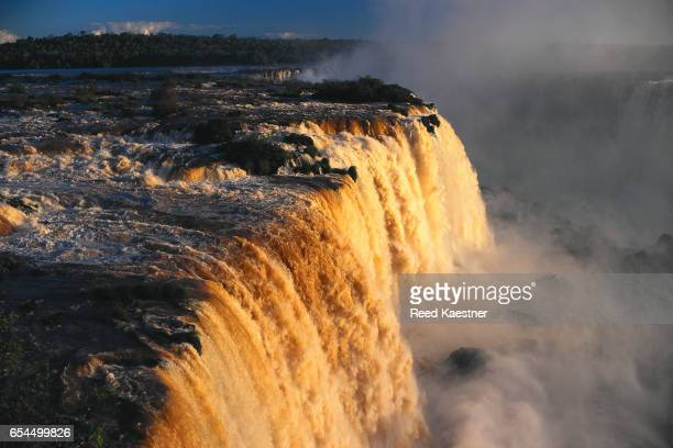 American Falls Bathed in Sunlight