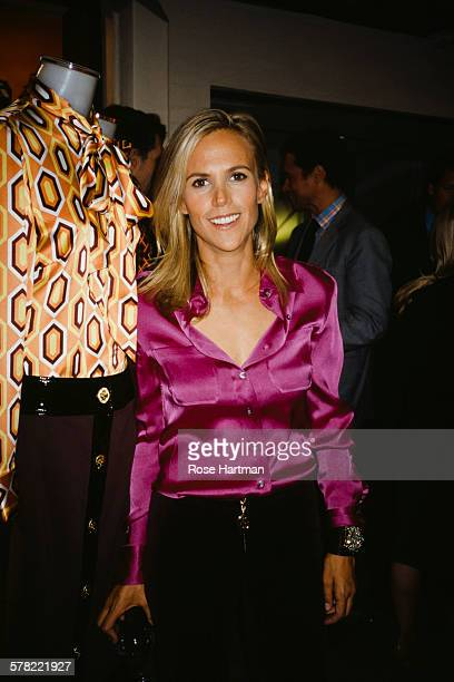 American fashion designer and businesswoman Tory Burch USA circa 2000