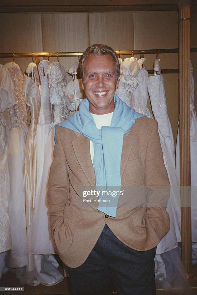 American fashion designer <a gi-track='captionPersonalityLinkClicked' href=/galleries/search?phrase=Michael+Kors+-+Fashion+Designer&family=editorial&specificpeople=4289231 ng-click='$event.stopPropagation()'>Michael Kors</a>, October 1991.