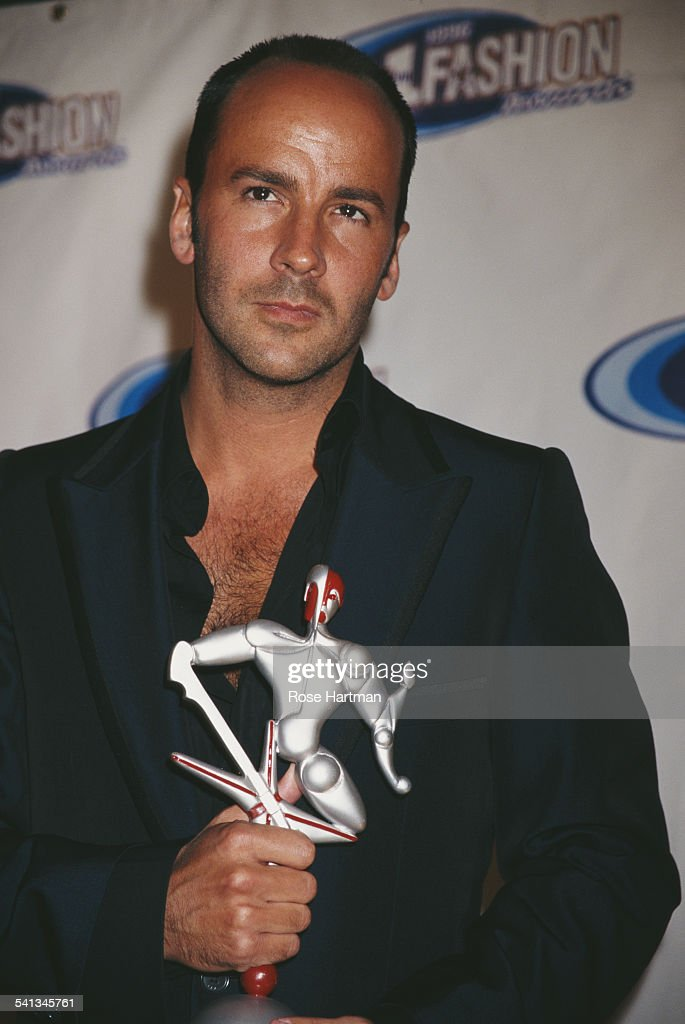 American fashion designer Tom Ford wins at the VH1 Fashion Awards New York City 24th October 1996