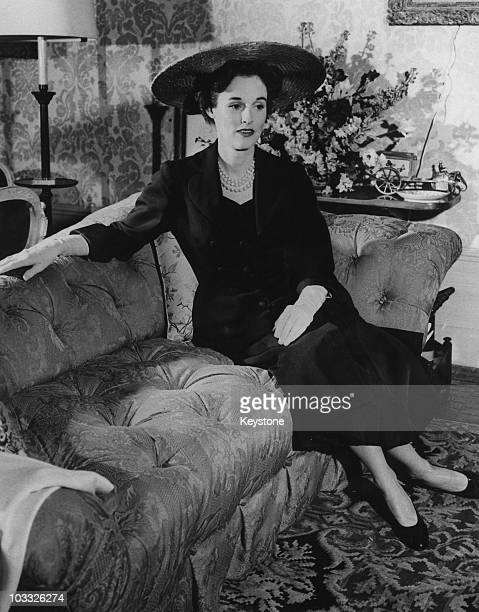 American fashion editor and socialite Barbara 'Babe' Paley January 1954 She is the wife of CBS chief executive William S Paley