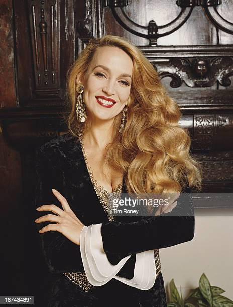 American fashion model Jerry Hall circa 1995