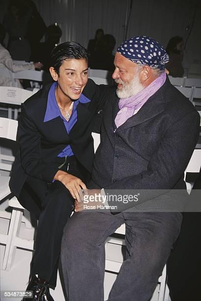 American fashion photographer Bruce Weber and Ingrid Casares circa 1996