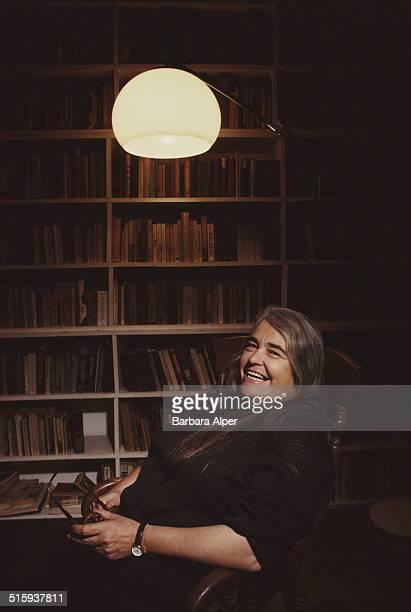 American feminist writer and activist Kate Millett in her New York City loft apartment 4th November 1990