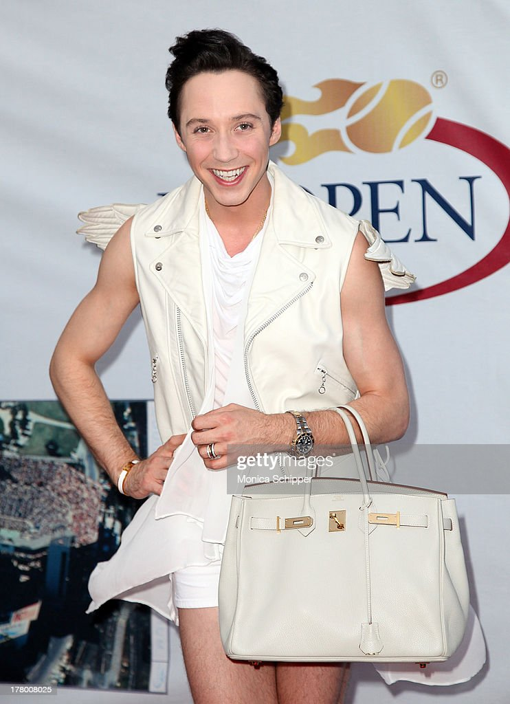 American figure skater Johnny Weir attends the 13th Annual USTA Serves Opening Night Gala at USTA Billie Jean King National Tennis Center on August 26, 2013 in New York City.