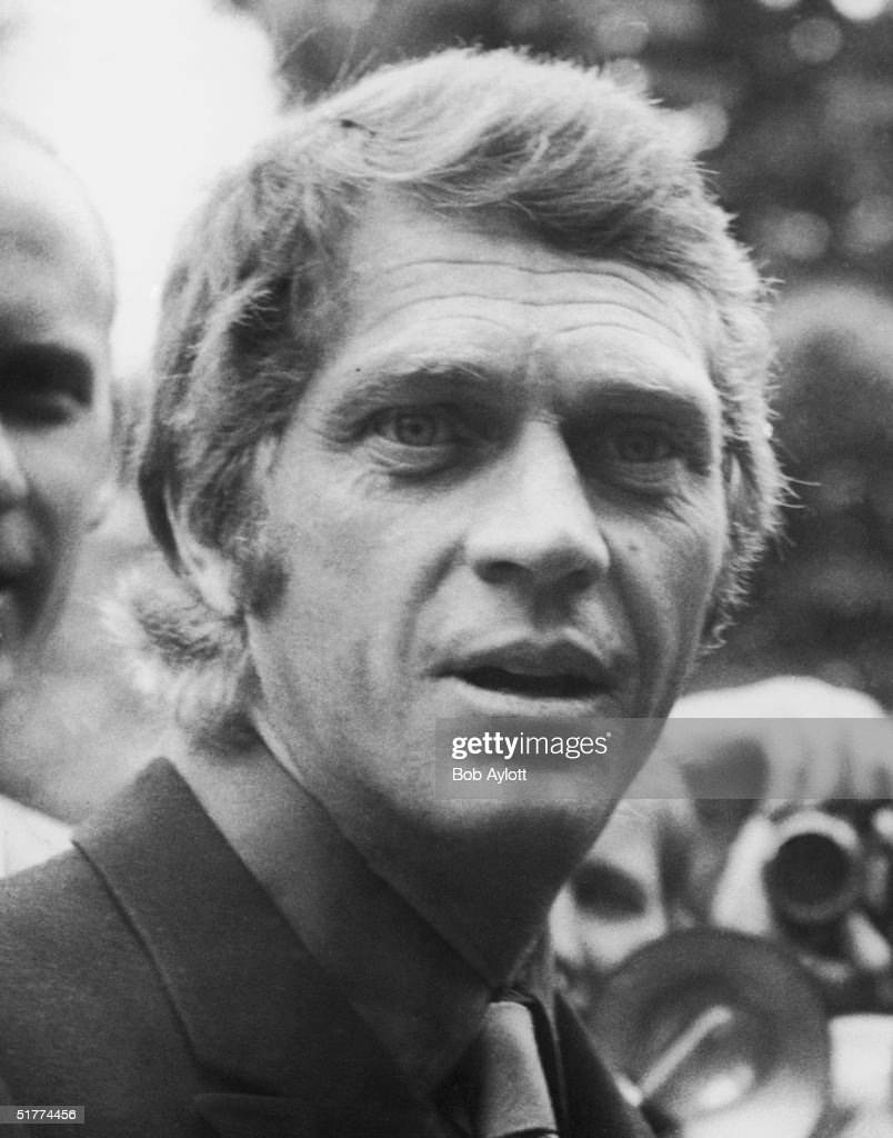 American film actor <a gi-track='captionPersonalityLinkClicked' href=/galleries/search?phrase=Steve+McQueen+-+Actor&family=editorial&specificpeople=217797 ng-click='$event.stopPropagation()'>Steve McQueen</a> (1930 - 1980) in London, 6th June 1969.
