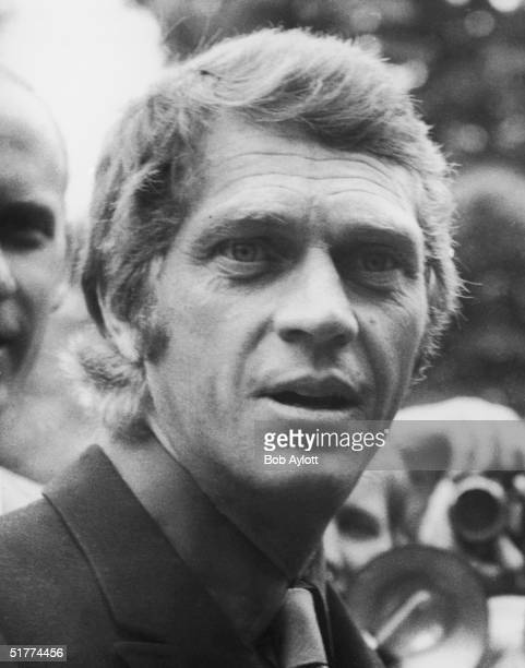 American film actor Steve McQueen in London 6th June 1969