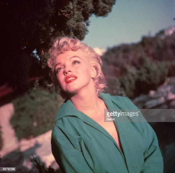 American film actress Marilyn Monroe