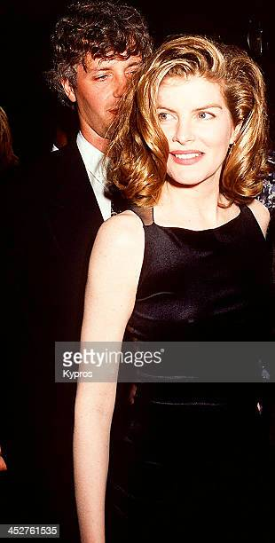 American film actress Rene Russo with her husband Dan Gilroy circa 1992