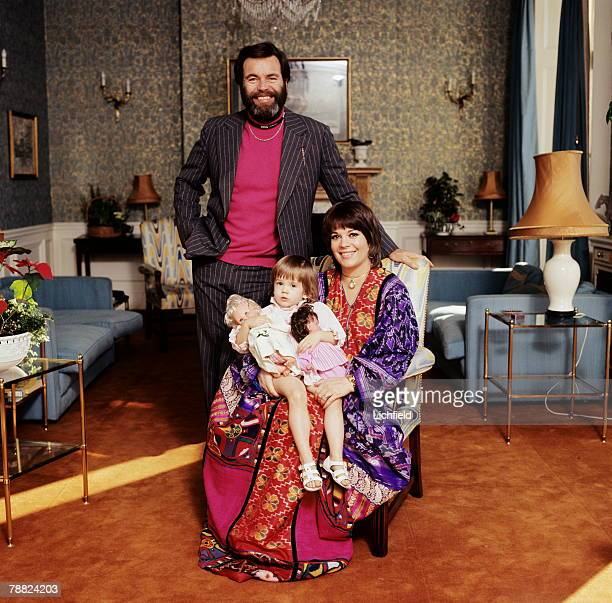 American film and television actor Robert Wagner his wife American film actress Natalie Wood with her daughter Natasha Gregson on 29th January 1974