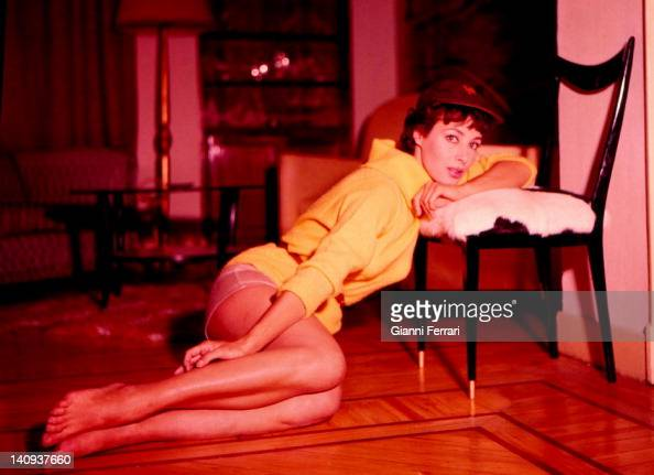 American film and television actress Rita Game in Spain Madrid Spain