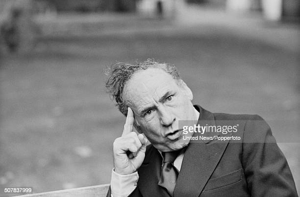 American film director and actor Mel Brooks posed in London to promote his film 'History of the World Part I' on 7th October 1981