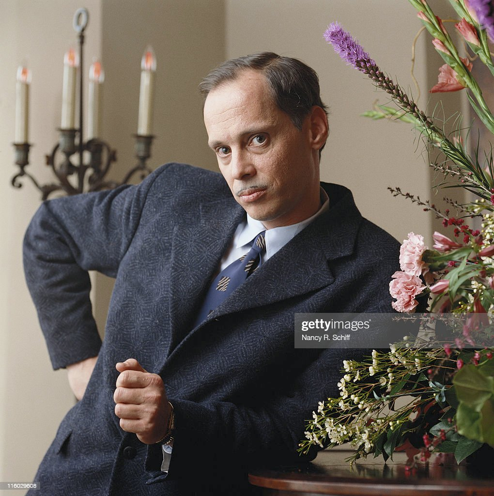 American film director and writer <a gi-track='captionPersonalityLinkClicked' href=/galleries/search?phrase=John+Waters+-+Director&family=editorial&specificpeople=209202 ng-click='$event.stopPropagation()'>John Waters</a>, 1990.