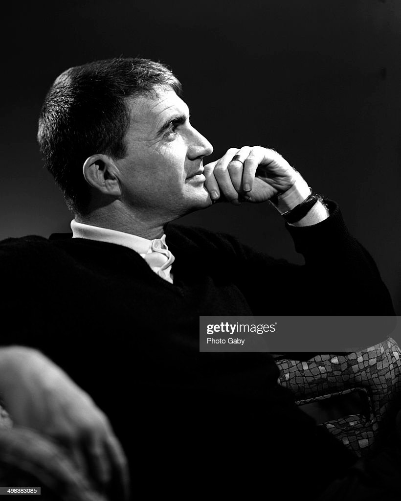 American film director, <a gi-track='captionPersonalityLinkClicked' href=/galleries/search?phrase=Blake+Edwards&family=editorial&specificpeople=208788 ng-click='$event.stopPropagation()'>Blake Edwards</a> (1922 - 2010), Los Angeles, 1963.