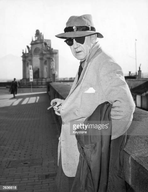 American film director John Ford on Via Santa Lucia in Naples 17th December 1954