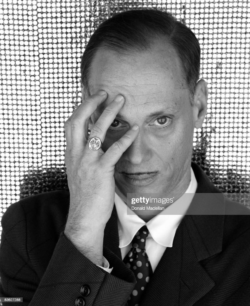 American film director <a gi-track='captionPersonalityLinkClicked' href=/galleries/search?phrase=John+Waters+-+Director&family=editorial&specificpeople=209202 ng-click='$event.stopPropagation()'>John Waters</a>, London, 28th November 2001.