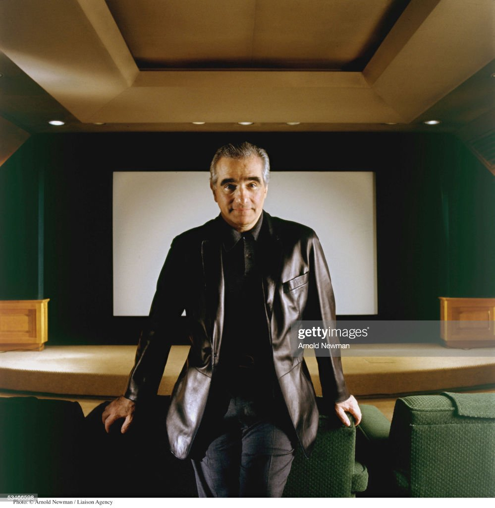 American film director Martin Scorsese poses for portrait in his private screening room October 5, 1999 in New York City.