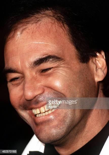 American film director Oliver Stone circa 1990