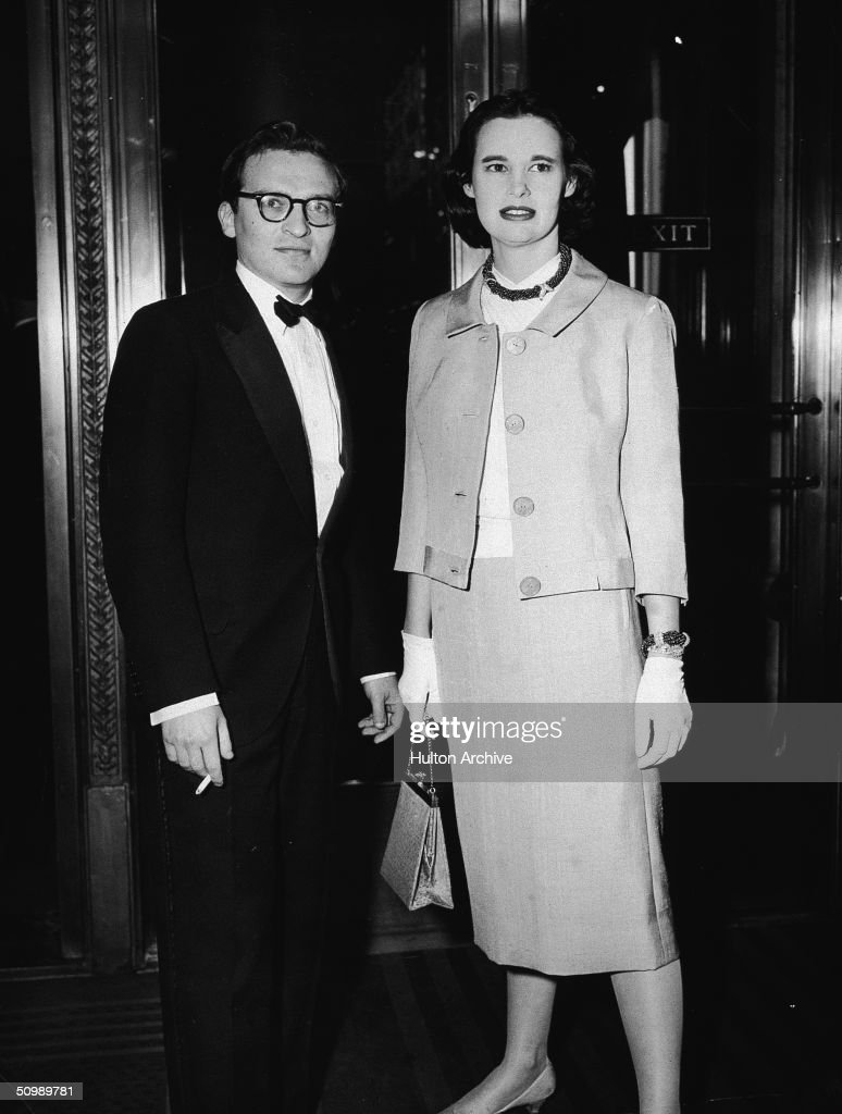 American film director <a gi-track='captionPersonalityLinkClicked' href=/galleries/search?phrase=Sidney+Lumet&family=editorial&specificpeople=214143 ng-click='$event.stopPropagation()'>Sidney Lumet</a> and his second wife American heiress and designer <a gi-track='captionPersonalityLinkClicked' href=/galleries/search?phrase=Gloria+Vanderbilt+-+Fashion+Designer&family=editorial&specificpeople=214786 ng-click='$event.stopPropagation()'>Gloria Vanderbilt</a> attend the premiere of his debut movie '12 Angry Men,' Capitol Theatre, New York, April 13, 1957.
