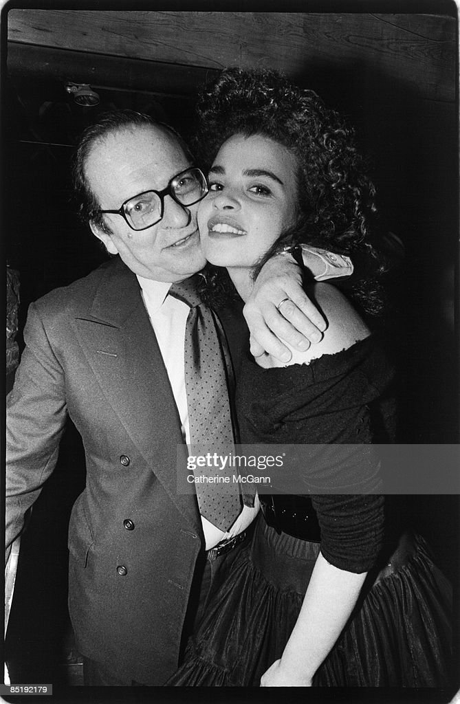 American film director Sidney Lumet (L) with daughter, American actress and screenwriter Jenny Lumet, at her birthday party at the Tunnel night club on February 2, 1987 in New York City, New York.