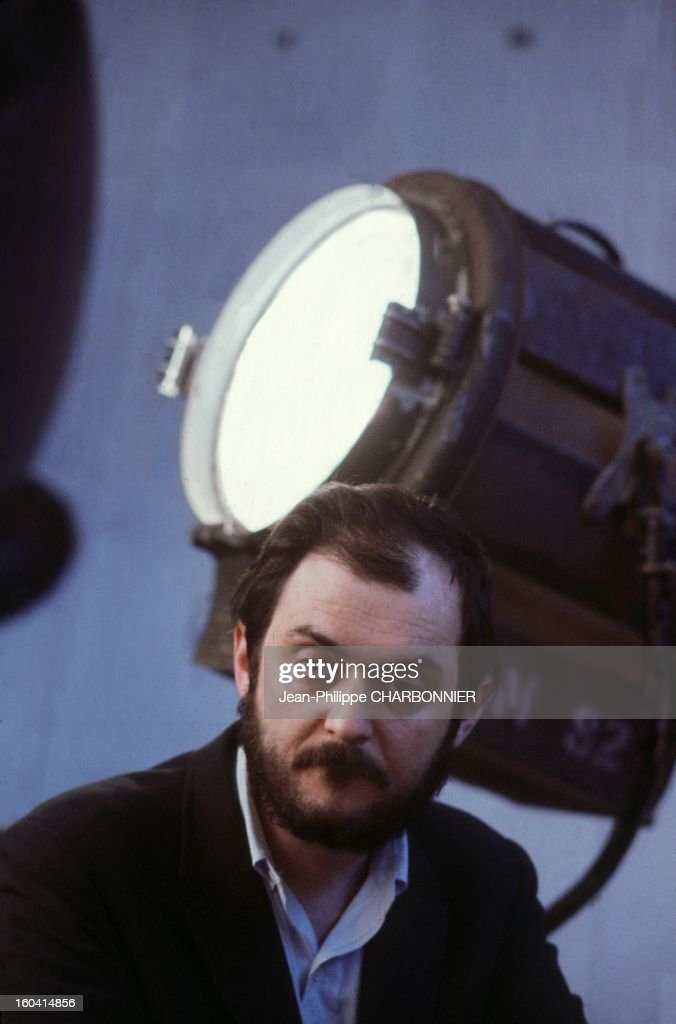 American film director <a gi-track='captionPersonalityLinkClicked' href=/galleries/search?phrase=Stanley+Kubrick&family=editorial&specificpeople=235793 ng-click='$event.stopPropagation()'>Stanley Kubrick</a> on the set of the movie '2001: A Space Odyssey', 1968 in United Kingdon.