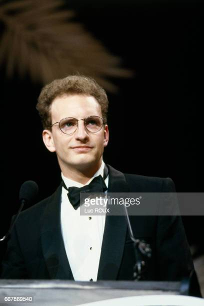 American film director Steven Soderbergh for the presentation of his film Sex Lies and Videotape at the Cannes Film Festival for which he won the...