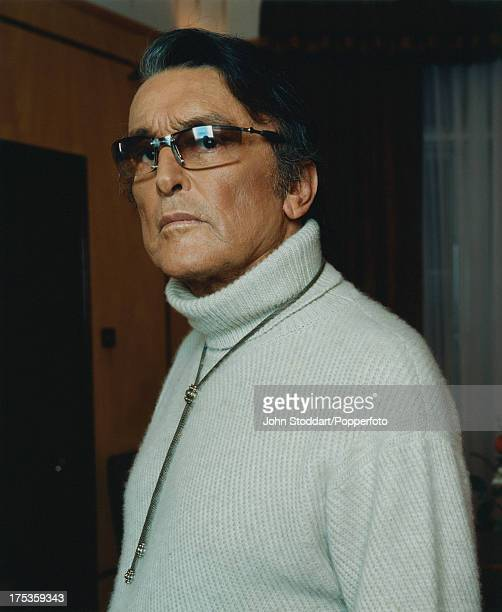 American film producer Robert Evans at Claridges hotel in London 14th November 2002