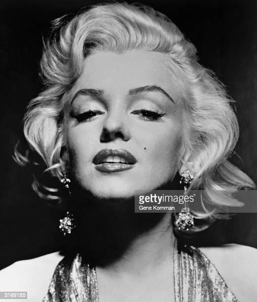 American film star Marilyn Monroe born Norma Jean Mortensen in Los Angeles
