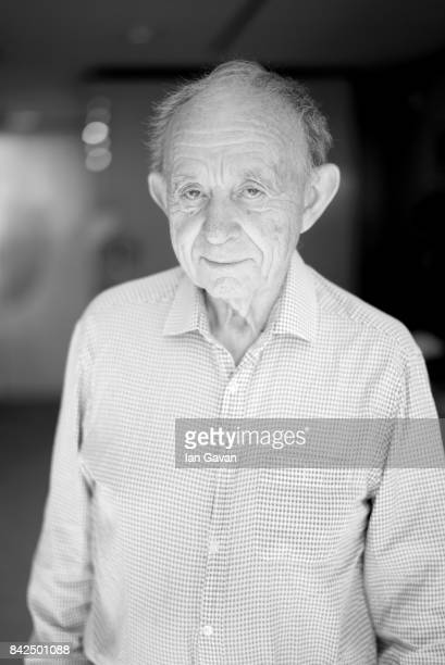 American filmmaker Frederick Wiseman of 'Ex Libris The New York Public Library' poses for a portrait during the 74th Venice Film Festival in the...