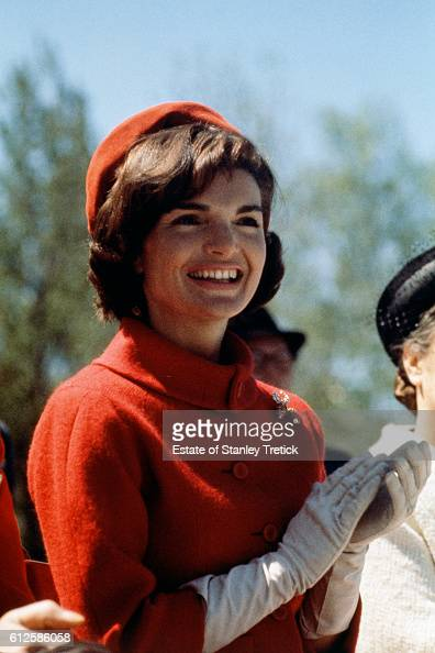 American First Lady Jacqueline Lee 'Jackie' Bouvier wife of the 35th President of the United States John F Kennedy