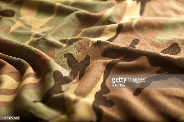 Bandera estadounidense y Camoflage (serie