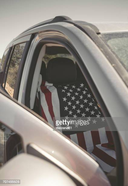 American flag car seat cover