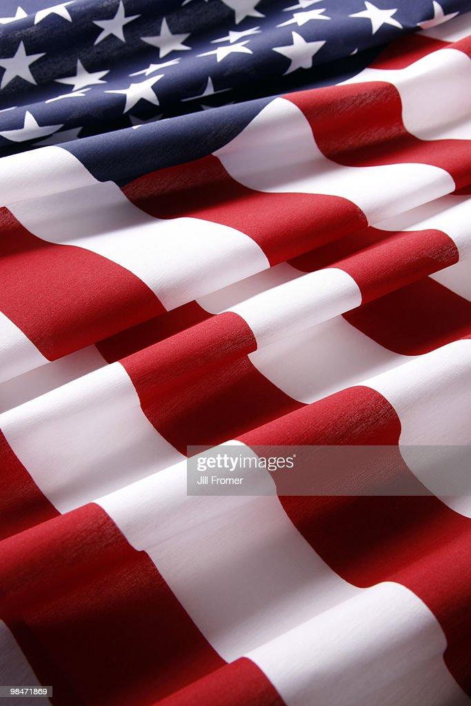 USA American Flag Patriotic Background : Stock Photo